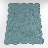 LA REDOUTE INTERIEURS 100% Cotton Quilted Bedside Rug