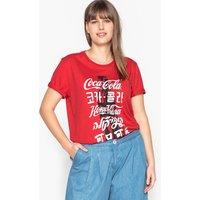 T-shirt rosso donna T-shirt con scollo rotondo maniche corte