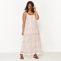 Strappy Printed Maxi Dress