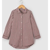 Checked Cotton Shirt, 3-12 Years