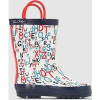 Alphabet Wellington Boots