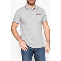 Plain Short-Sleeved Polo Shirt with Classic Collar