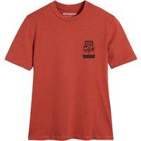 Cotton Polaroid Print T-Shirt with Crew-Neck.