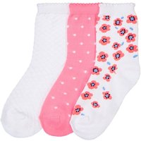 Pack of 3 Pairs of Patterned Ankle Socks