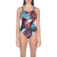 1-piece Tropical Leaves Swimsuit
