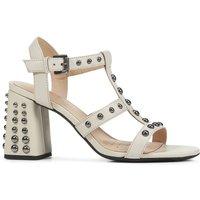 D Seyla High Leather Sandals