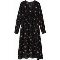 shop for Long-Sleeved Floral Dress at Shopo