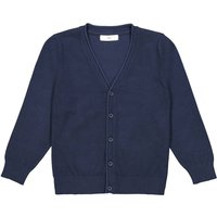 Cotton Mix Buttoned Cardigan, 3-12 Years