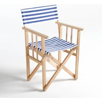 Dovil Striped Folding Director's Chair