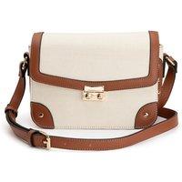 Contrast Detail Shoulder Bag