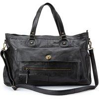 Totally Royal Leather Handbag