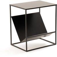 Hiba End Table with Magazine Rack