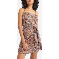 Bustier Mini Dress in Floral Print