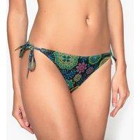 Braguita de bikini con lacitos estampada