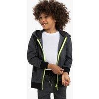 Sudadera deportiva con cremallera y capucha, 3-12 años