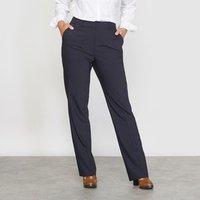 Pantalón recto estilo sastre de polilana