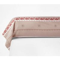 Funda de almohada larga de algodón