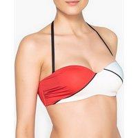 Sujetador de bikini con estampado gráfico