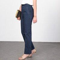 Pantalón de satén de algodón stretch