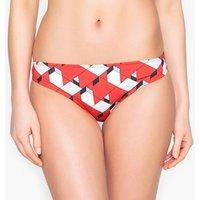 Braguita de bikini con estampado gráfico