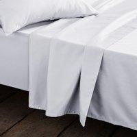Cotton Satin Flat Sheet