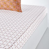 Summer Wax Cotton Fitted Sheet