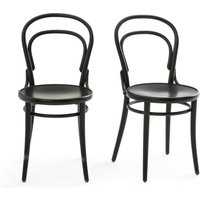 Neda Set of 2 Chairs in Beech