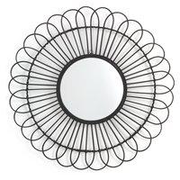 Nogu Rattan Sun Shaped Mirror Ø60cm