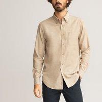 Cotton Flannel Shirt in Regular Fit