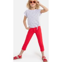 Slim Fit Cropped Trousers, 3-12 Years