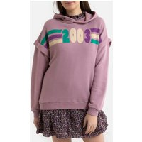 Blow Cotton Hoodie with Printed Front.