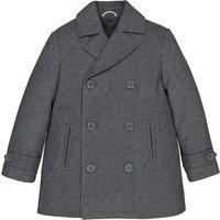 Wool Mix Pea Coat, 3-12 Years