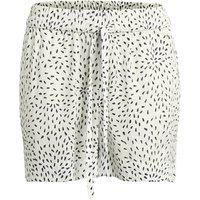 Bedruckte Shorts, weich fliessende Form, Gummizugbund