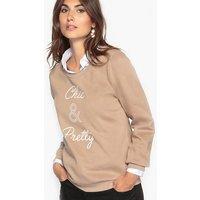 Slogan Cotton Rich Sweatshirt
