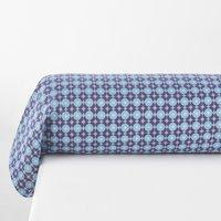 Miss China Printed Cotton Bolster Pillowcase