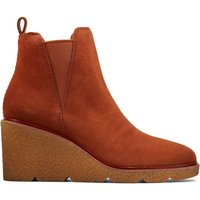 Clarkford Top Suede Wedge Ankle Boots