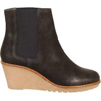 Cortland Leather Wedge Ankle Boots