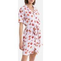 Short Shirt Dress in Fruity Print