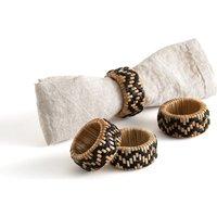 Set of 4 Yoni Napkin Rings