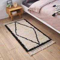 Samia Berber-Style Bedside Runner Rug