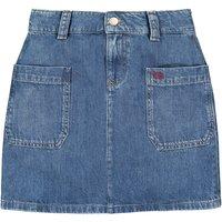 Recycled Cotton Denim Mini Skirt, 10-16 Years