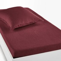 Linot Washed Linen Fitted Sheet for Thick Mattresses