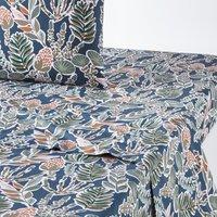 Aquajungle Cotton Percale Flat Sheet
