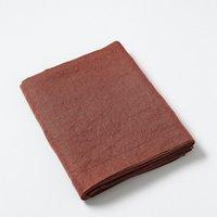 Elina Washed Linen Flat Sheet