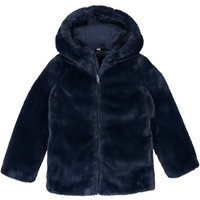 Faux Fur Hooded Coat, 3-12 Years