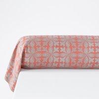 Bergame Printed Cotton Flannel Bolster Pillowcase
