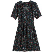 Wrap Dress with Short Sleeves