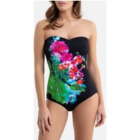 Tummy-Toning Bustier Swimsuit