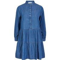 Short Flared Shirt Dress