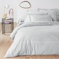 Palace Embroidered Cotton Percale Bolster Case